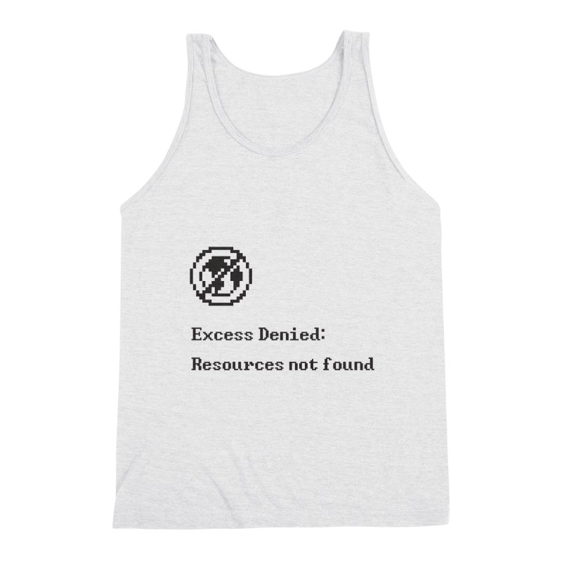 Excess Denied Men's Tank by agrimony // Aaron Thong