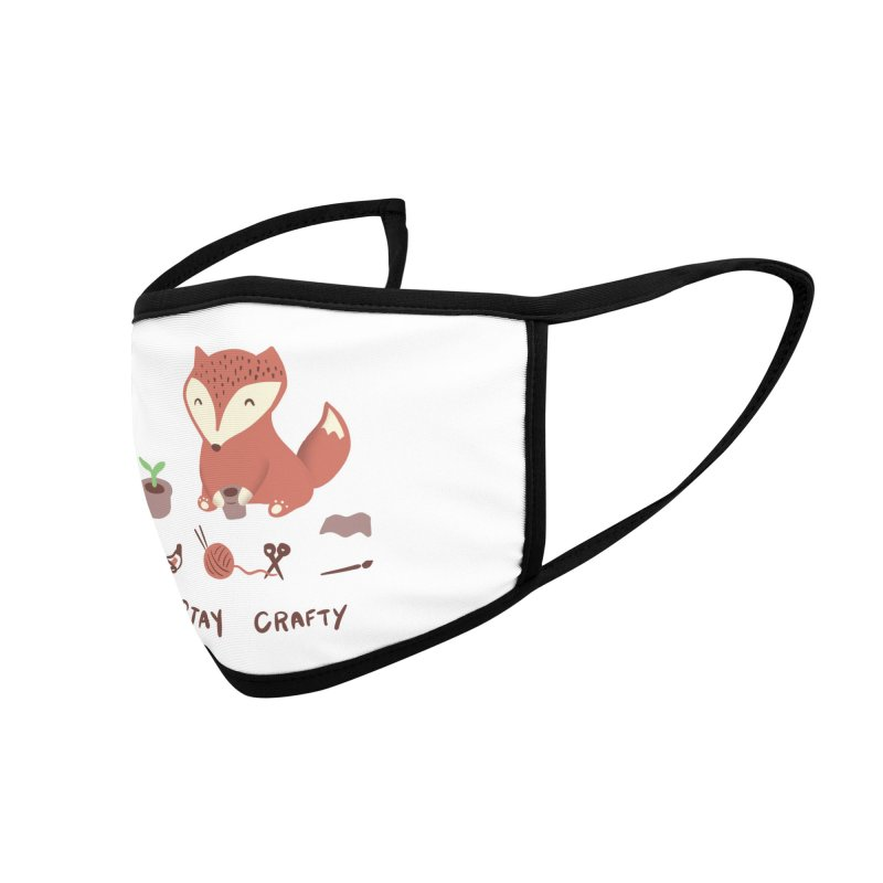 Crafty as a Fox Accessories Face Mask by agrimony // Aaron Thong