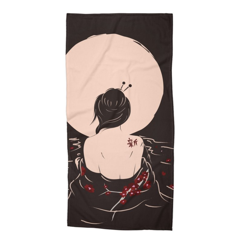 The Beauty and Sadness Accessories Beach Towel by agrimony // Aaron Thong