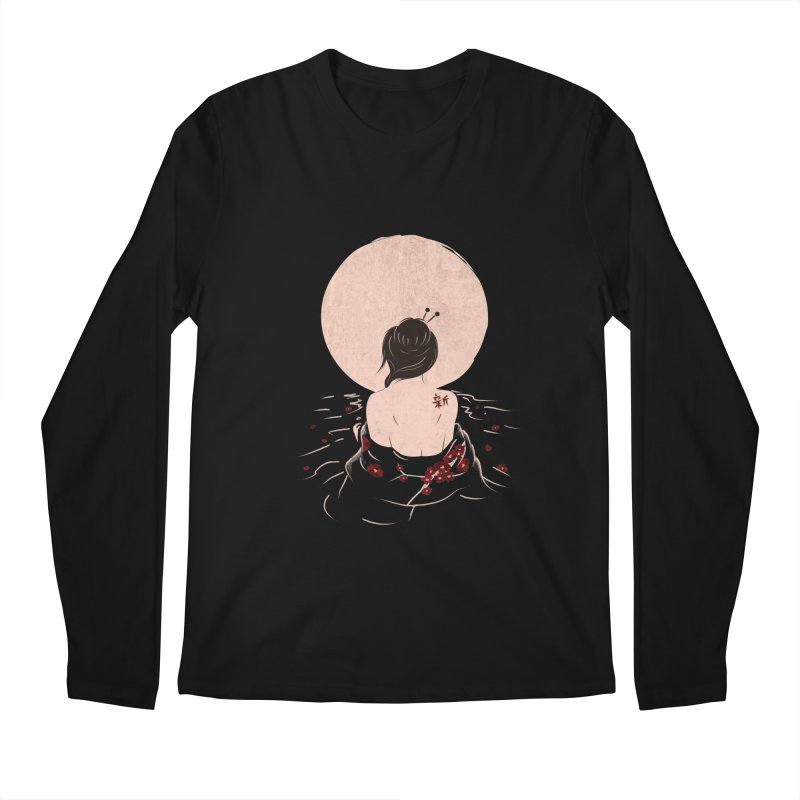 The Beauty and Sadness Men's Regular Longsleeve T-Shirt by agrimony // Aaron Thong