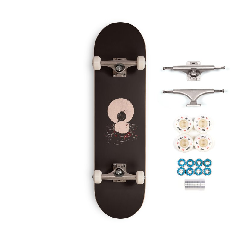 The Beauty and Sadness Accessories Complete - Premium Skateboard by agrimony // Aaron Thong