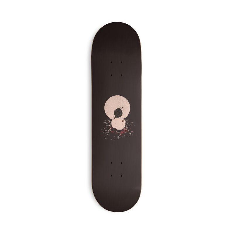 The Beauty and Sadness Accessories Deck Only Skateboard by agrimony // Aaron Thong