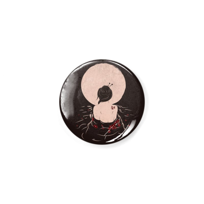 The Beauty and Sadness Accessories Button by agrimony // Aaron Thong
