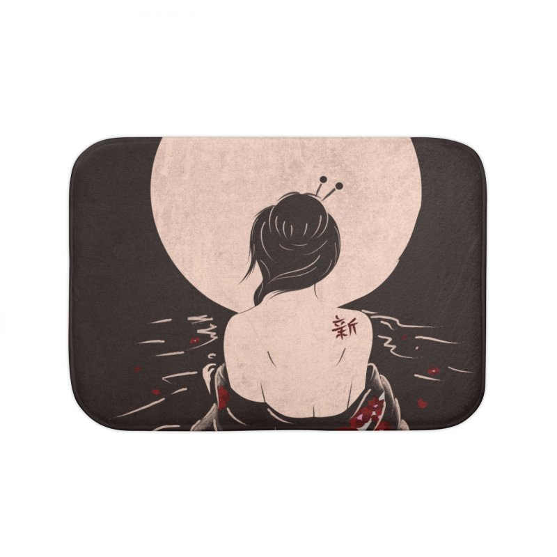 The Beauty and Sadness Home Bath Mat by agrimony // Aaron Thong