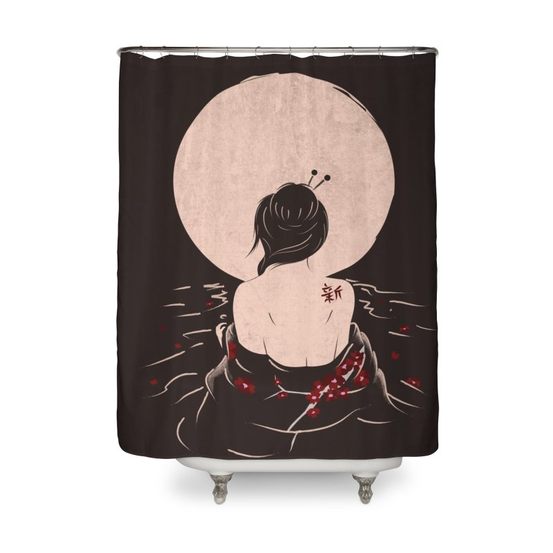 The Beauty and Sadness Home Shower Curtain by agrimony // Aaron Thong
