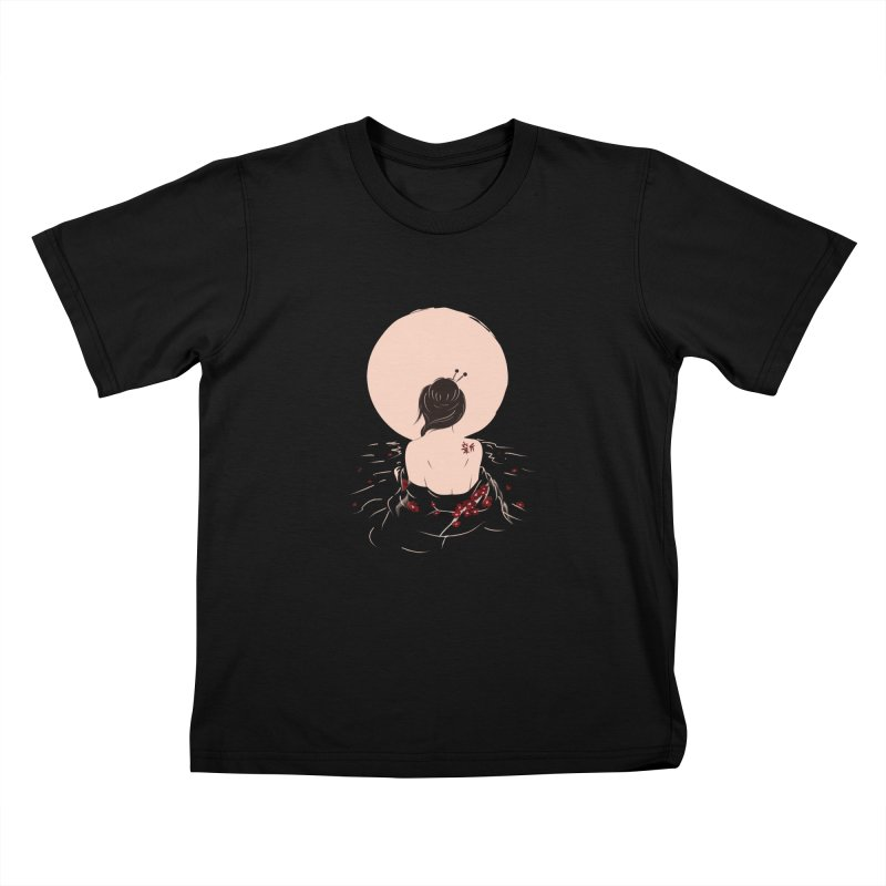 The Beauty and Sadness Kids T-Shirt by agrimony // Aaron Thong