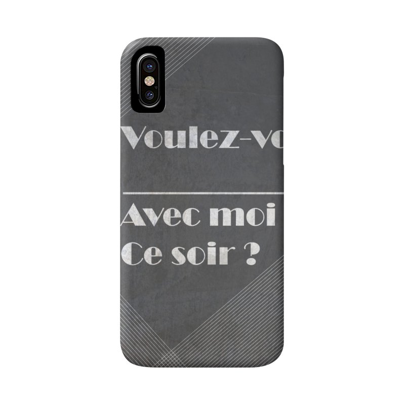 Voulez-vous _____ Accessories Phone Case by agrimony // Aaron Thong