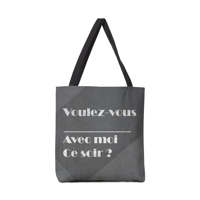 Voulez-vous _____ Accessories Tote Bag Bag by agrimony // Aaron Thong