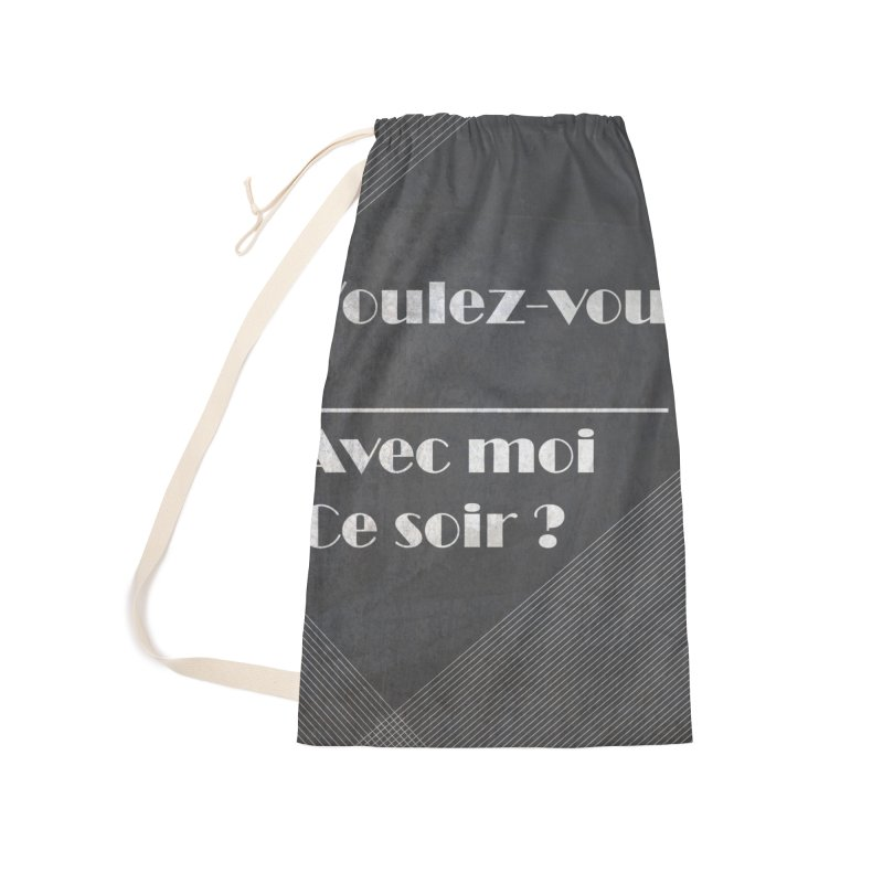 Voulez-vous _____ Accessories Laundry Bag Bag by agrimony // Aaron Thong