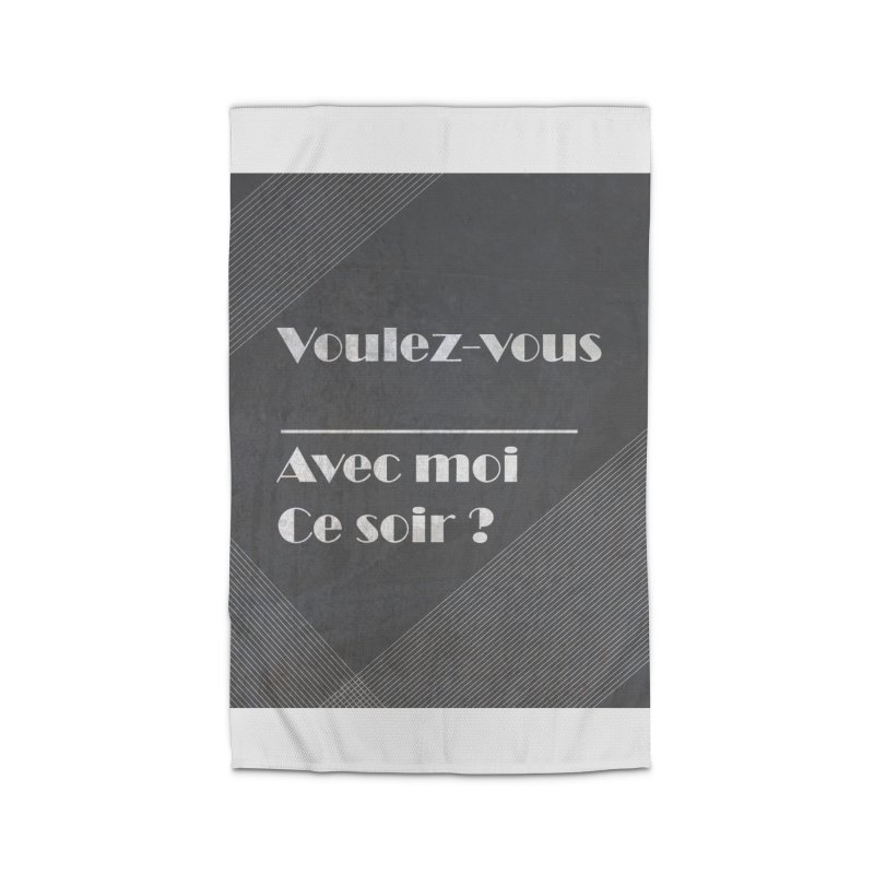 Voulez-vous _____ Home Rug by agrimony // Aaron Thong