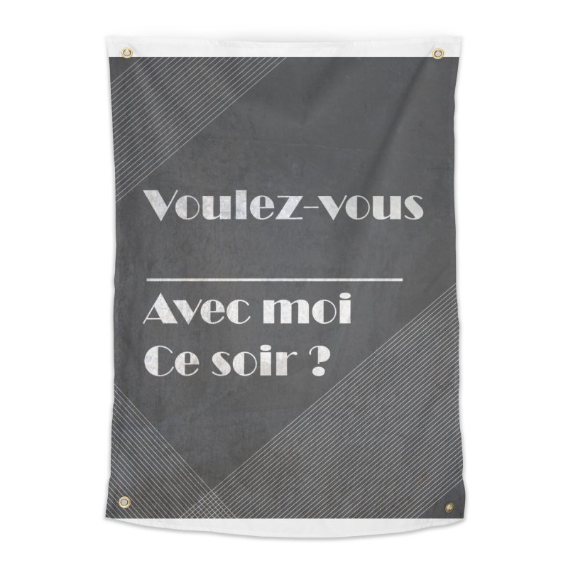 Voulez-vous _____ Home Tapestry by agrimony // Aaron Thong