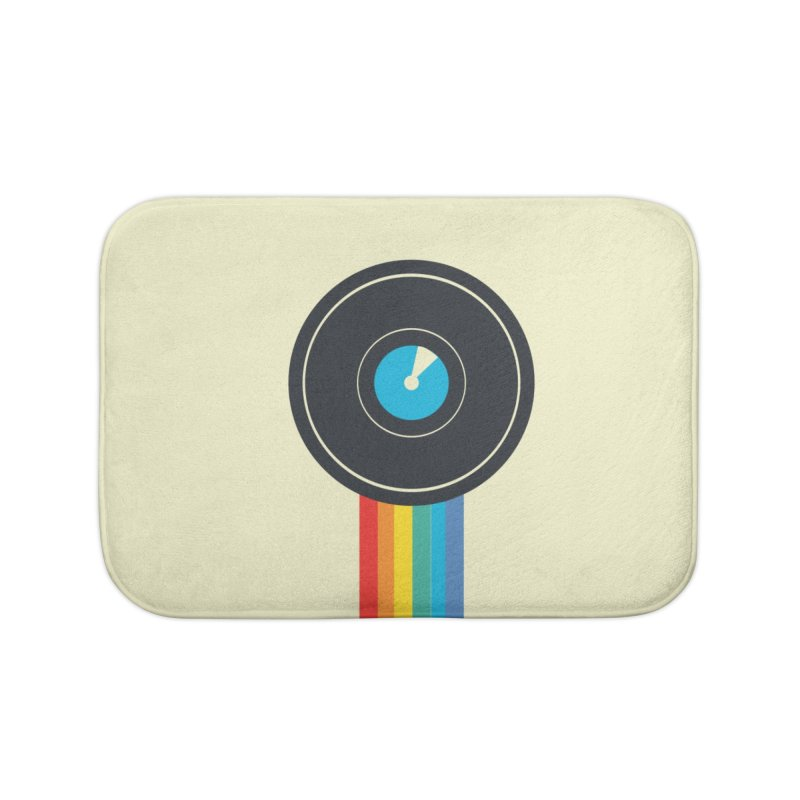 Polaroid Home Bath Mat by agrimony // Aaron Thong
