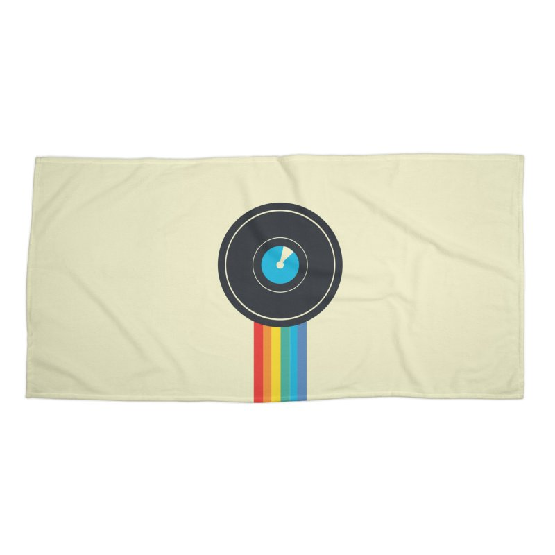 Polaroid Accessories Beach Towel by agrimony // Aaron Thong