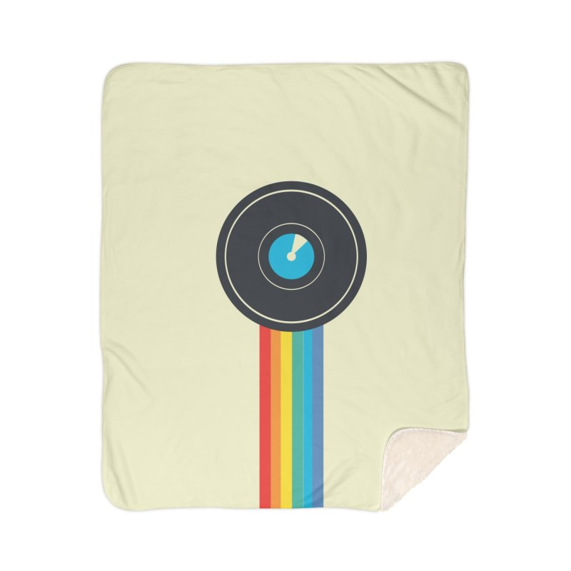 Polaroid Home Sherpa Blanket Blanket by agrimony // Aaron Thong
