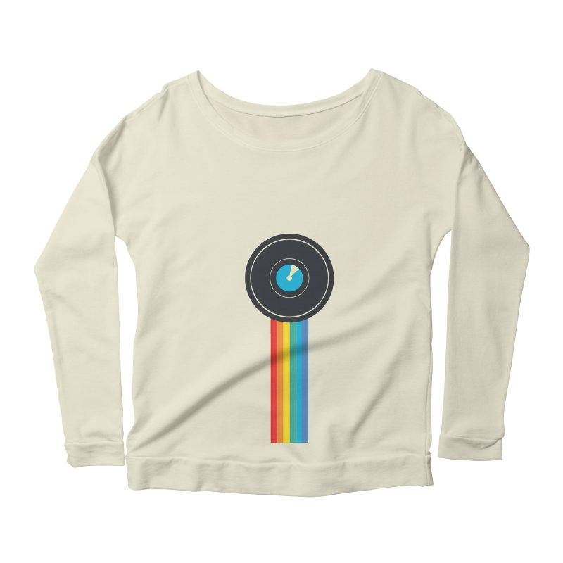Polaroid Women's Scoop Neck Longsleeve T-Shirt by agrimony // Aaron Thong