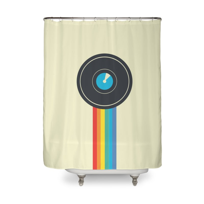 Polaroid Home Shower Curtain by agrimony // Aaron Thong