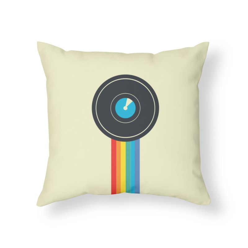 Polaroid Home Throw Pillow by agrimony // Aaron Thong