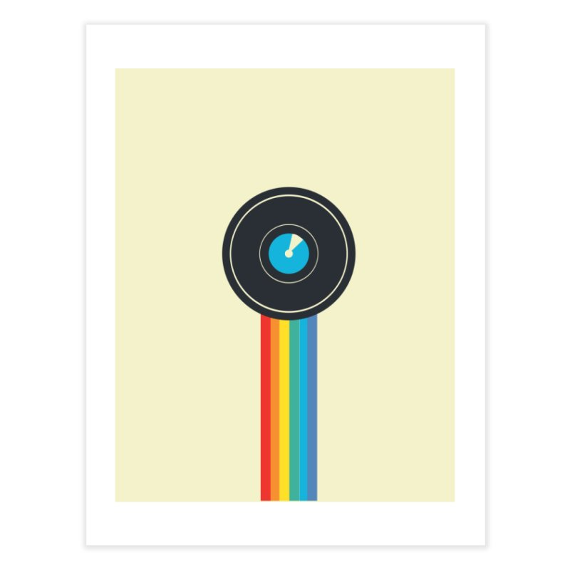 Polaroid Home Fine Art Print by agrimony // Aaron Thong