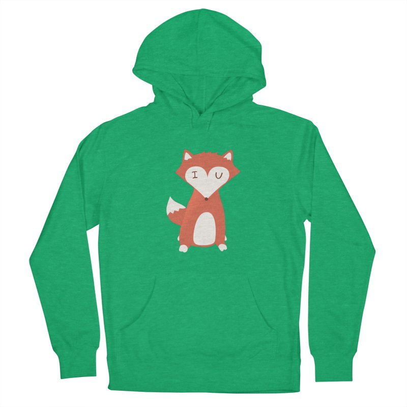 A Foxy Proposal Men's Pullover Hoody by agrimony // Aaron Thong