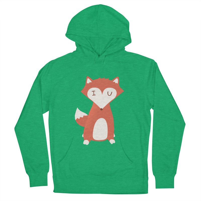 A Foxy Proposal Women's French Terry Pullover Hoody by agrimony // Aaron Thong