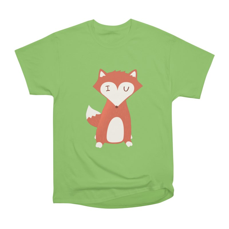 A Foxy Proposal Men's Heavyweight T-Shirt by agrimony // Aaron Thong