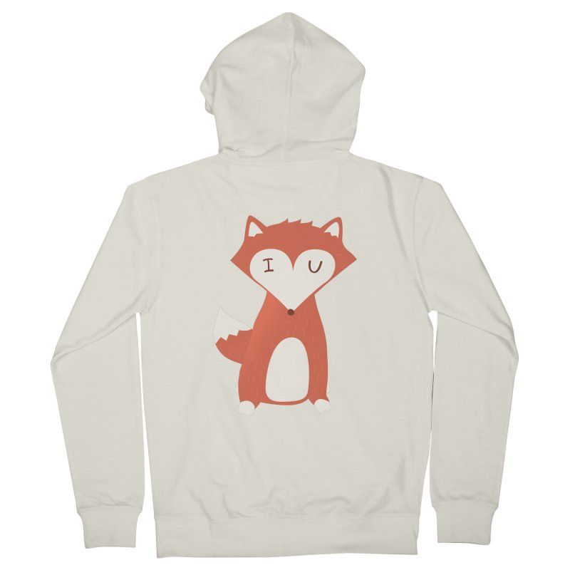 A Foxy Proposal Women's Zip-Up Hoody by agrimony // Aaron Thong