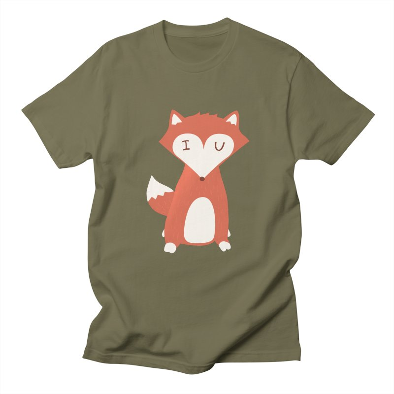 A Foxy Proposal Men's T-shirt by agrimony // Aaron Thong