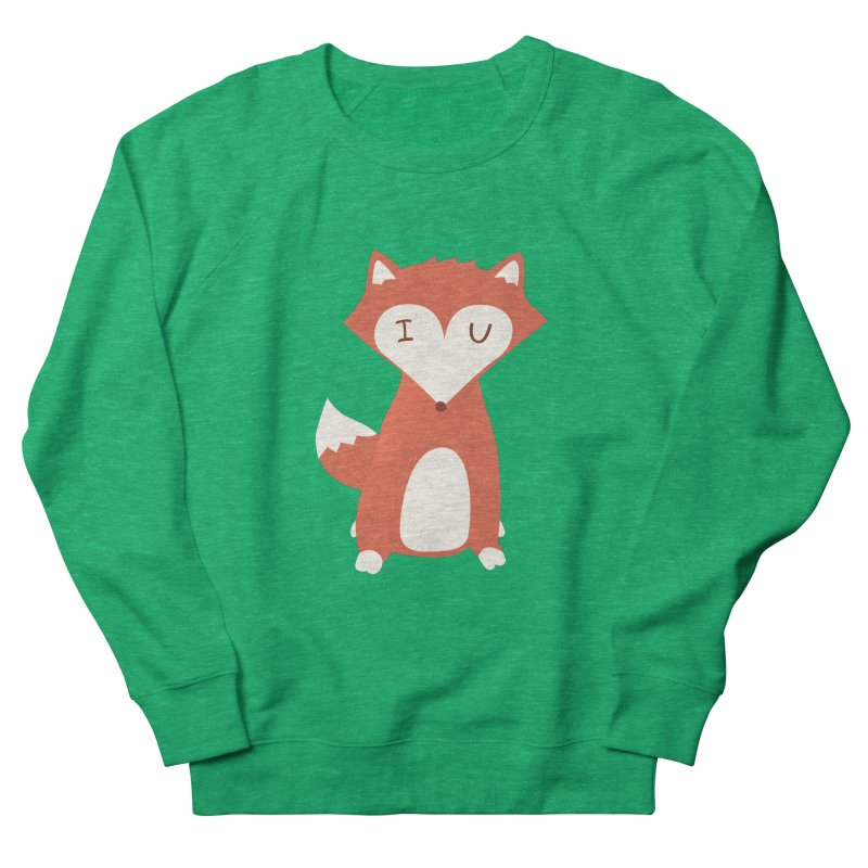 A Foxy Proposal Women's French Terry Sweatshirt by agrimony // Aaron Thong