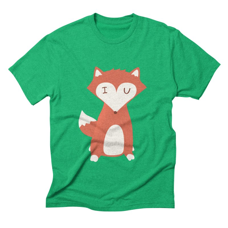 A Foxy Proposal Men's Triblend T-shirt by agrimony // Aaron Thong