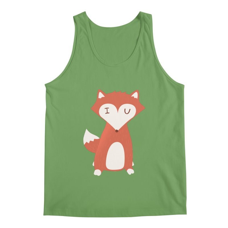A Foxy Proposal Men's Tank by agrimony // Aaron Thong