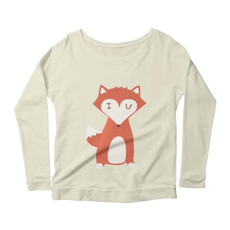 A Foxy Proposal Women's Scoop Neck Longsleeve T-Shirt by agrimony // Aaron Thong