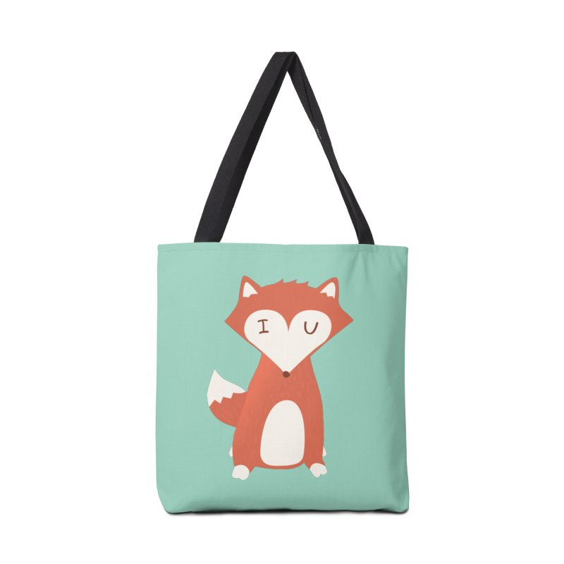A Foxy Proposal Accessories Bag by agrimony // Aaron Thong