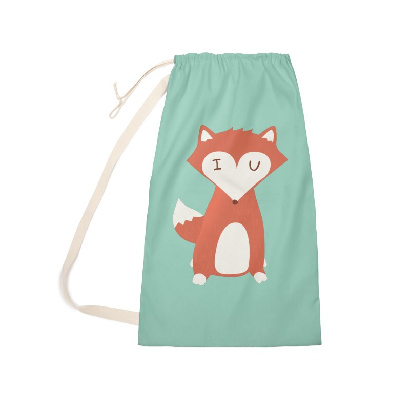 A Foxy Proposal Accessories Laundry Bag Bag by agrimony // Aaron Thong