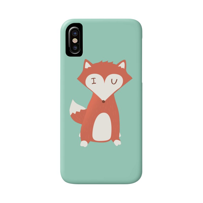 A Foxy Proposal Accessories Phone Case by agrimony // Aaron Thong