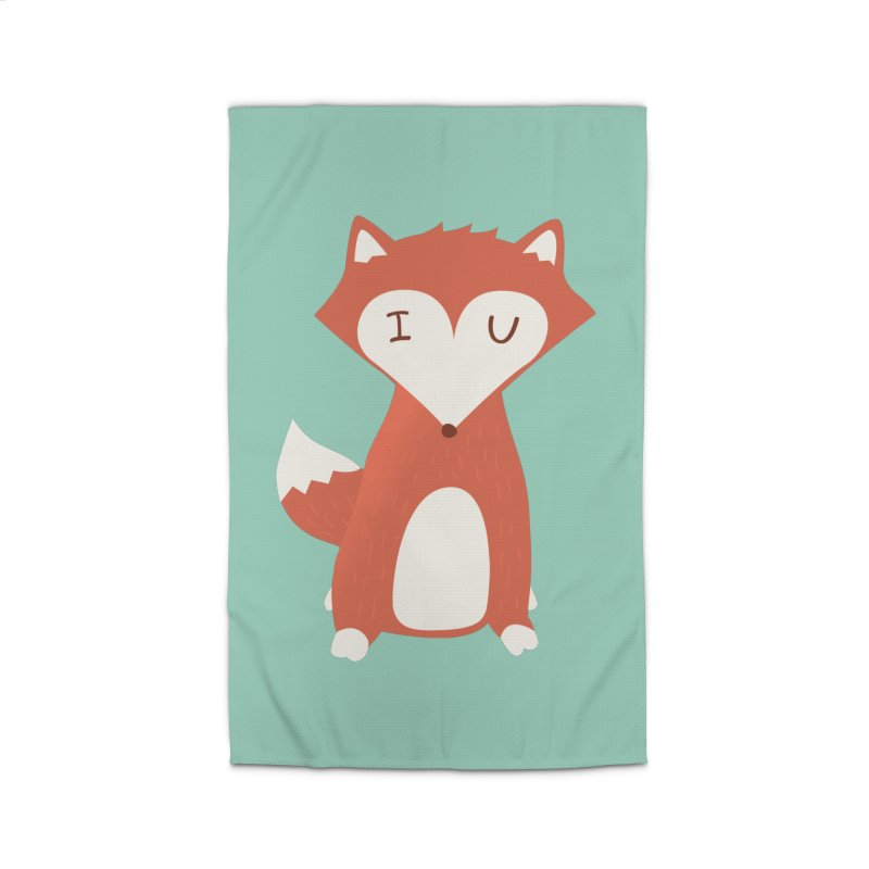 A Foxy Proposal Home Rug by agrimony // Aaron Thong