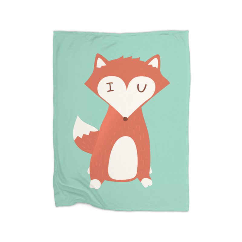 A Foxy Proposal Home Blanket by agrimony // Aaron Thong