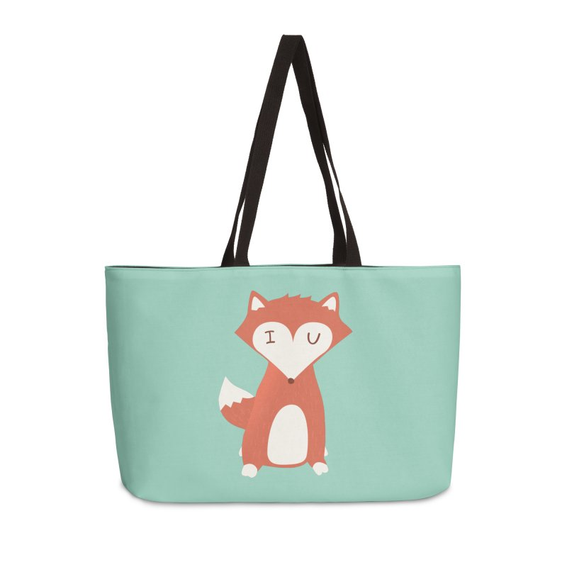 A Foxy Proposal Accessories Weekender Bag Bag by agrimony // Aaron Thong