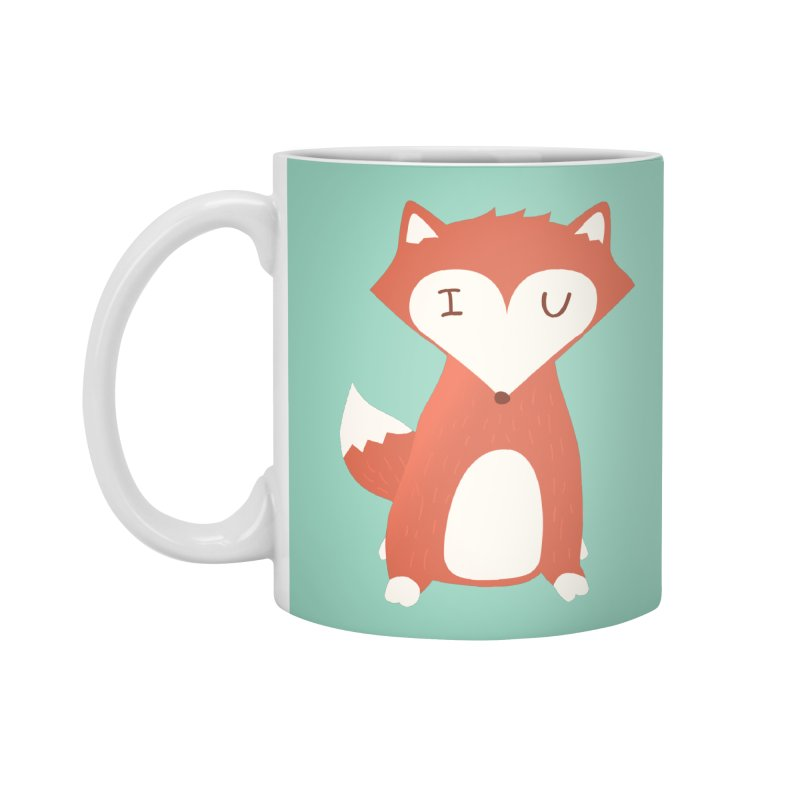 A Foxy Proposal Accessories Standard Mug by agrimony // Aaron Thong