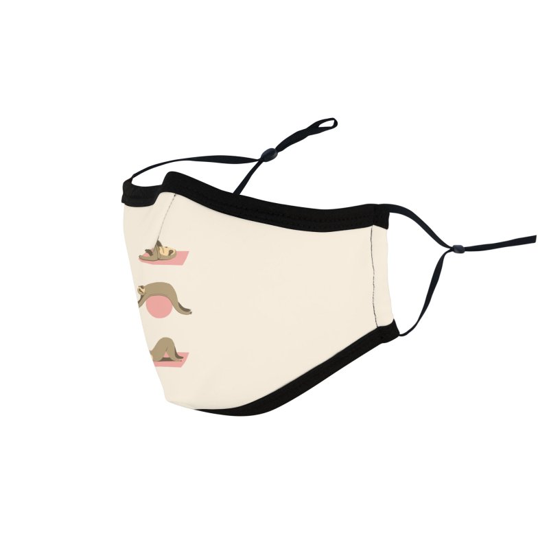 Sloth Pilates Accessories Face Mask by agrimony // Aaron Thong