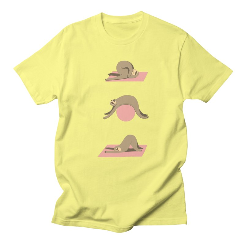 Sloth Pilates Women's T-Shirt by agrimony // Aaron Thong