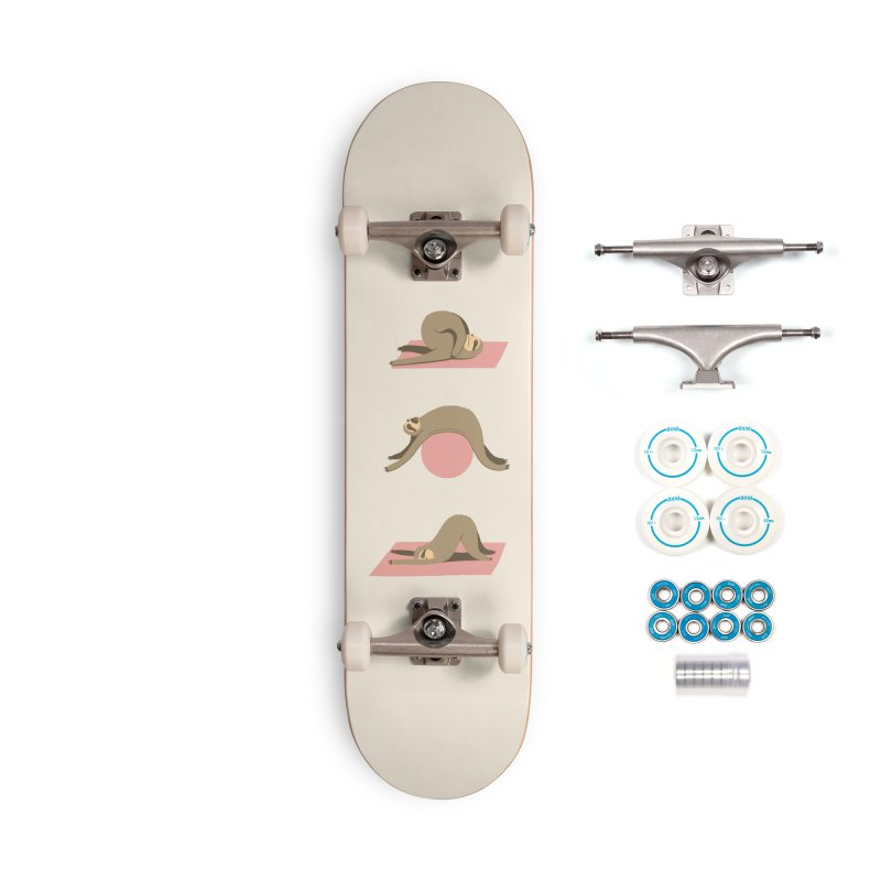 Sloth Pilates Accessories Complete - Basic Skateboard by agrimony // Aaron Thong