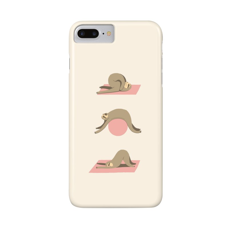 Sloth Pilates Accessories Phone Case by agrimony // Aaron Thong