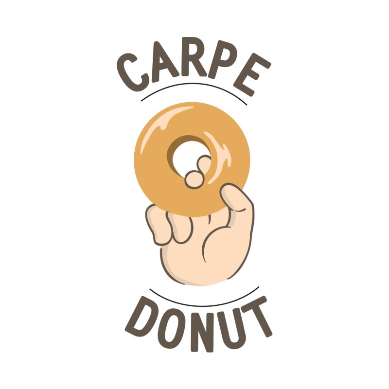 Carpe Donut Kids Baby T-Shirt by agrimony // Aaron Thong