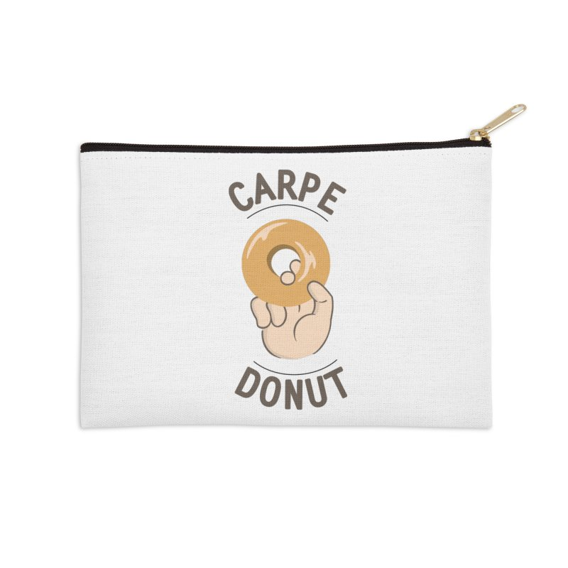 Carpe Donut Accessories Zip Pouch by agrimony // Aaron Thong