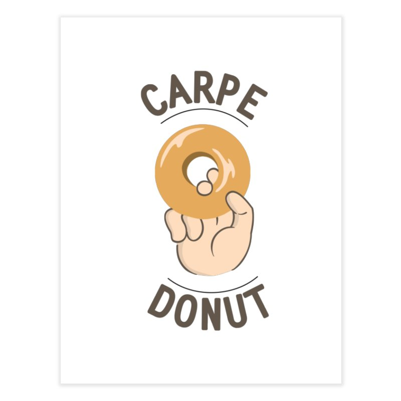 Carpe Donut Home Bath Mat by agrimony // Aaron Thong