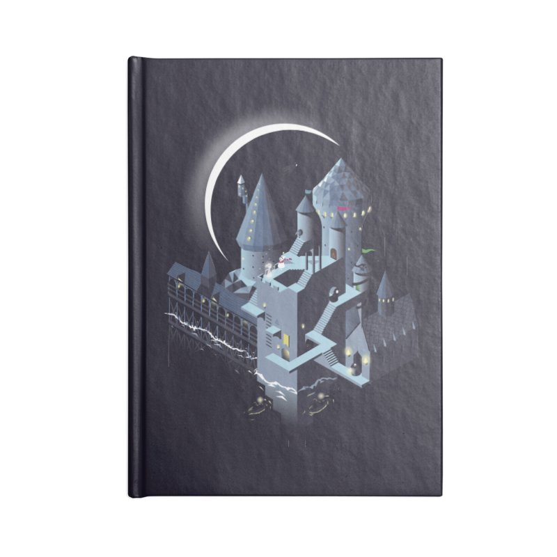 Monumental Harry Accessories Blank Journal Notebook by agrimony // Aaron Thong