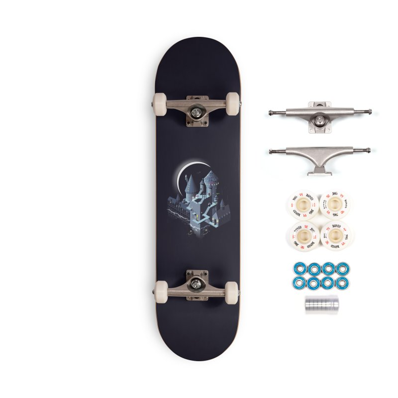 Monumental Harry Accessories Complete - Premium Skateboard by agrimony // Aaron Thong