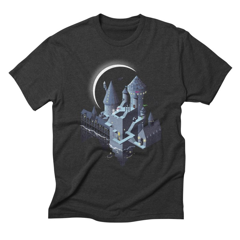 Monumental Harry in Men's Triblend T-Shirt Heather Onyx by agrimony // Aaron Thong