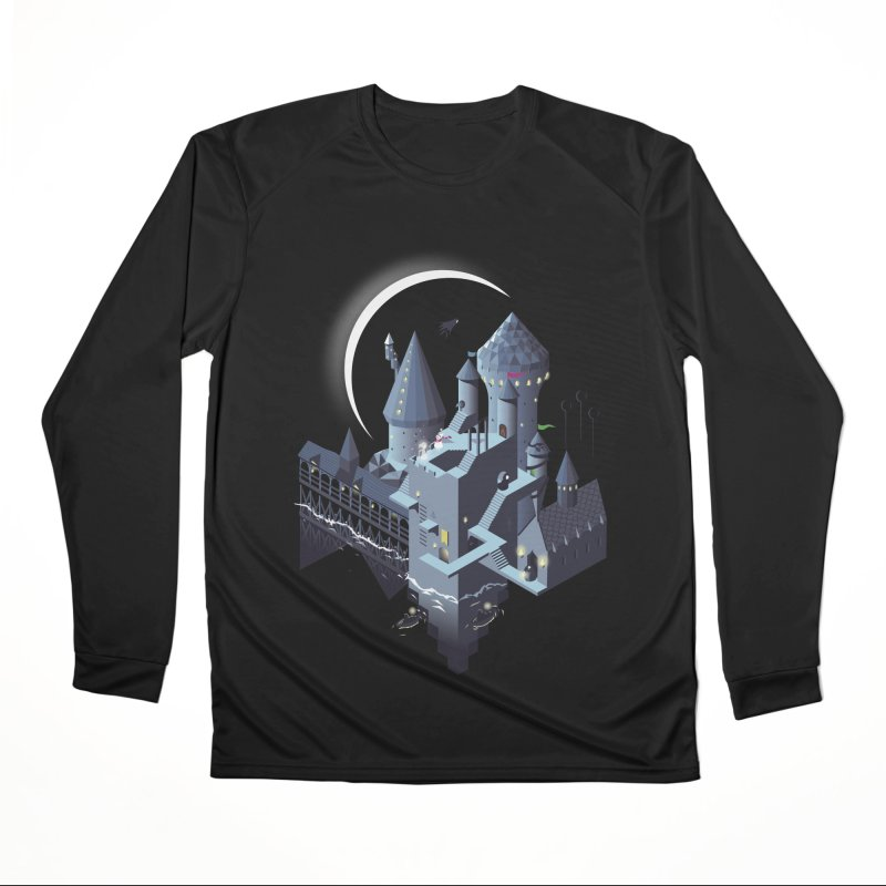 Monumental Harry Men's Performance Longsleeve T-Shirt by agrimony // Aaron Thong
