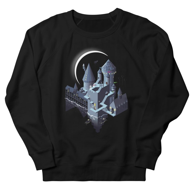 Monumental Harry Men's French Terry Sweatshirt by agrimony // Aaron Thong